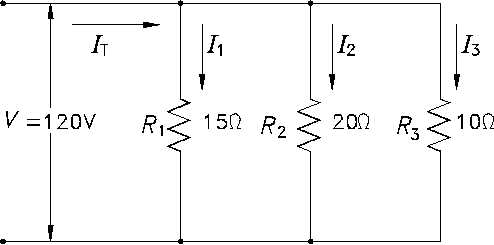 how to draw parallel circuit
