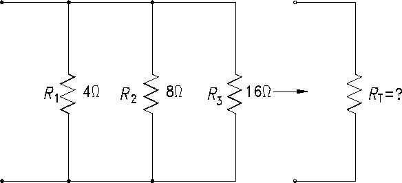 Figure 27 total resistance in a parallel circuit basic dc theory basic dc circuit calculations the total resistance in a parallel circuit can also be found by using the equation 2 10 ccuart Choice Image