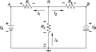 Figure 44 Circuit for Node Analysis