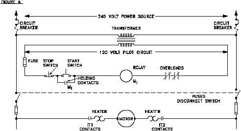 reading electrical diagrams and schematics rh nuclearpowertraining tpub com Parallel Circuit Diagram One Line Electrical Diagram Examples