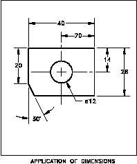 figure 5 example of dimensioning notation